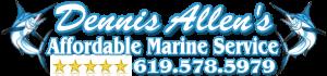 Dennis Allens Affordable Marine Logo cr 768-178